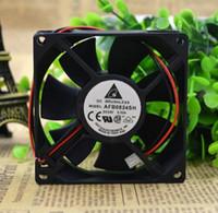 델타 AFB0824SH 80 * 80 * 25 24V 0.33A 8CM 공기 냉각 팬 인버터 2 라인