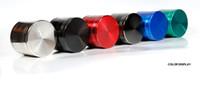 Colorido 4 camadas de tabaco Moedores 40mm / 50mm / 55mm / 63mm / 75mm Detector de cigarros fumar cracker erva moagem vs brinquedos Sharpstone DHL