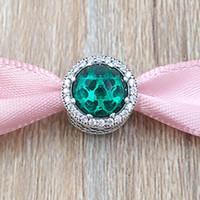 Authentic 925 Perles d'argent Sterling Sterling Rosy Hearts Hearts Charms Charms Convient aux Bracelets de bijoux de style Pandora européen Collier 791725NBP