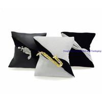 موضة جديدة 3PCS مجوهرات بروش الوسائد العرض حامل للمجوهرات حالة التخزين والتغليف هدية المخملية الشعر زينة العرض