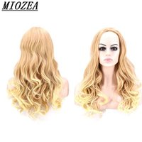 Fashion long Curly Synthetic Hair High Temperature Fiber Lig...