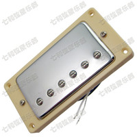 A5 Silver double coil Chitarra elettrica Pickup Chitarra parti accessori per strumenti musicali humbucking pickup per chitarra