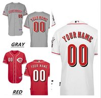 Personalized Men' s Cincinnati Reds Custom Jerseys High ...