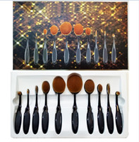 Oval Foundation Brush Makeup Brushes Set Oval Makeup Brush S...