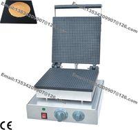 Бесплатная доставка коммерческого использования антипригарным 110 в 220 В электрический мини площадь голландский Stroopwafels сироп вафли пекарь машина чайник железа