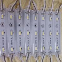 SMD 5730 módulo módulo de luz LED à prova d 'água LEVOU luz de publicidade back light backlight para assinar carta DC12V 3 led CE