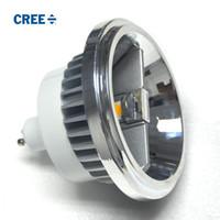 Кри Сид ar111 Dimmable светодиодный прожектор GU10 светодиодные лампы переменного тока 85v-265V теплый белый холодный белый 15W светильник