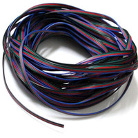 100m 4-pins RGB-verlengdraadkabel 3528/5050 RGB LED-striplicht