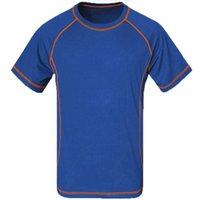 Летом пешие прогулки дышащий футболка мужчины быстро сухой ткани Coolmax Homme для кемпинга Рыбалка бег фитнес t-рубашка бесплатная доставка
