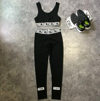 Pink Tracksuits Pink Crop Tops Pants Pink Letter Sports Suit...