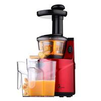 Nuevo Hogar Juicer Lentamente 60rpm / min Máquina de Jugo Multifunción Juice Maker Jucie Milkshake Baby Solid Food Juice Extractor