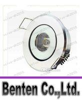 Frete grátis mais novo LED de alta potência mini-rodada círculo embutida de teto para baixo luz LED 3W lâmpada gabinete LLFA193 alumínio branco