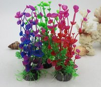 New Stunning Artificial Plastic Grass Fish Tank Water Plant ...