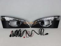 Süper Parlak LED gündüz farı DRL Chevrolet 2011 ~ 2013 için sis lambası kapaklı Captiva SUV, yedek
