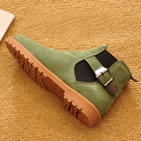 Fashion Autumn Winter Women Boots 2017 Slip on Ankle Boots S...