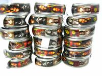 New 50PCs Bob Marley Rasta Jamaica Reggae Stainless Steel Men's Band Jewelry Rings wholesale bulk lots