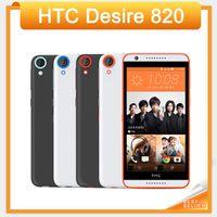 الهاتف الأصلي HTC Desire 820 مفتوح 4G LTE 5.5 بوصة تعمل باللمس 2GB RAM 16GB ROM 13.0MP كاميرا Android 4.4 الهاتف المحمول