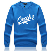 Fashion autumn winter Hoodie Thick Hoody Crooks Men Casual S...