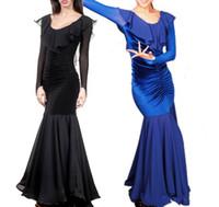 2016 Free Shipping Ballroom Competition Dance Dress Lady Dress Ballroom Standard Dance Women Viennese Waltz Dress Dancewear Dance Dress