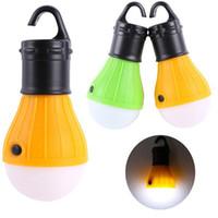 Lampada 203-0051 della lanterna di pesca della lampadina della tenda di campeggio LED della luce morbida all'ingrosso-calda all'aperto