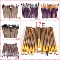 HOT Cheap 21 color 20 OPP bag eye makeup brush set brush eye...