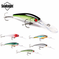 Esche da pesca di marca Seaknight Minnow 5Pcs / Lot 6.2G 62Mm 0-2.5M Esche artificiali Deep Wobblers da pesca Attrezzatura da pesca