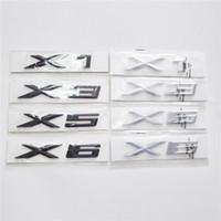 Nouveaux décalcomanies en anglais Logo pour la série X11 x3 x5 x6 autocollants de voiture pour 1 3 5 7