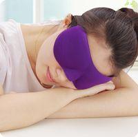 3D маска для глаз тень Nap крышка с завязанными глазами Маска 3D полиэстер губка тени для век сна маски для сна путешествия красочные маски сна