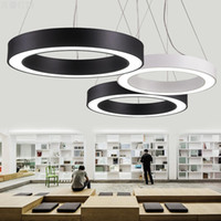 Office Lights Simple Lamp Circular Led Pendant Lighting Simp...
