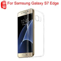 For Samsung Galaxy S7 edge Case Crystal Transparent Silicone...
