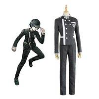 Disfraz V3: Harmony School Dangan-Ronpa Shuichi Cosplay Danganronpa Uniform Suit Saihara Killing DSVRD