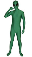 Green Alien costume cosplay adult halloween costumes for men...