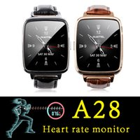 2016 DHL A28 Smart Watch IP53 Waterproof Heart Rate Monitor ...