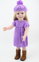 American Girl Puppe Prinzessin 18 Zoll / 45 cm Weichplastik Baby Doll Spielzeug für Kinder