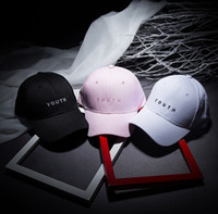 New hip hop Youth snapback cap Letters Baseball Caps Fashion...