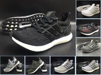 New Ultra Boost 3. 0 Triple Black and White Primeknit Oreo CN...
