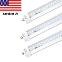 T8 8ft LED Light Tube, FA8 Single Pin Base, 8ft 6000K Cold W...