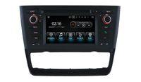araba automaticl klima için İz işlevini Geri vites araç stereo Android 9.0 PX5 OCTA CORE OTO DVD için BMW 1 E81 / E82 / E88 radyo