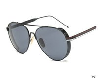 73d22ed41a 2017 new classic steam punk sunglasses women Drive Alloy frame trend  sunglasses true membrane lens oculos de sol feminino 8096