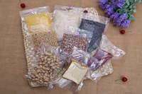 sacchetto di imballaggio alimentare di multi formato Sacchetti vuoti dell'imballaggio sottovuoto Barriera umida Protezione superiore aperta del sacchetto di plastica della saldatura a caldo Borsa d'imballaggio di conservazione a freddo