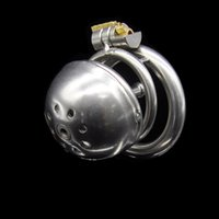 Nouveau dispositif de chasteté en tube urétral en acier inoxydable pour cadenas A221