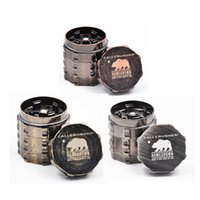 New Cali Crusher Grinder 45mm 4 Piece Herb Grinder Spice Cru...