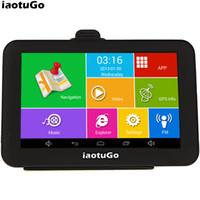 "Original iaotuGo 5"" Capacitive Android Car GPS Truck Navigator ,8G,WIFI,AV-IN,Bluetooth FM"