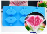 Lecca-lecca-lecca-lecca Stampo per torta Stampo per sapone in silicone flessibile per sapone fatto a mano Candela Candy bakeware cottura stampi utensili da cucina stampi per ghiaccio