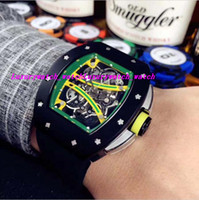 Luxury Top Quality Skeleton Dial Rubber Strap 61- 01 Automati...