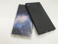 Бесплатная доставка матовый тпу силиконовый гель чехол для Sony Xperia Z5