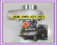 Uniwersalny Turbo GT30 GT35-2 Ar .63 COMP. AR .70 T3 Woda ochłodzona i olej chłodzony 5 śruby 400 HP turbinger turbosprężarki z uszczelkami