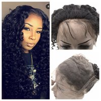360 Lace Band Frontal Closure With Baby Hair Indian Deep Wav...