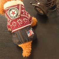 Dog clothes, autumn and winter, new snowflake, Teddy, Teddy ...