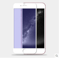 For Iphone 5 6s 6 6plus color plating tempered glass mirror ...